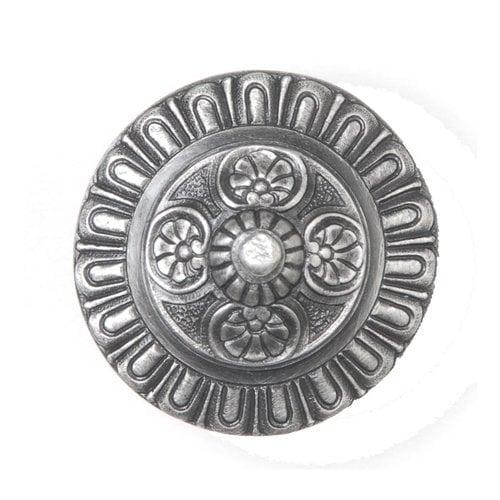 Notting Hill King's Road 1-1/2 Inch Diameter Antique Pewter Cabinet Knob NHK-208-AP