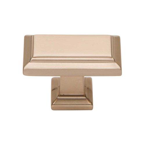 Atlas Homewares Sutton Place 1-1/2 Inch Diameter Champagne Cabinet Knob 290-CM