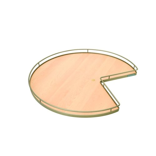 Kessebohmer Super Susan Pie Cut Lazy Susan Set 28 inch Maple/Champagne 541.11.852