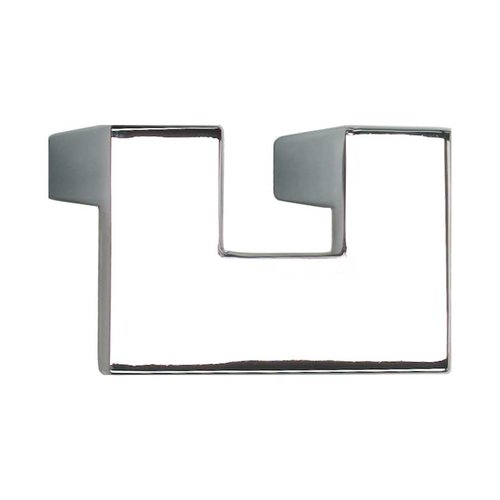 Atlas Homewares U-Turn 1-1/4 Inch Center to Center Polished Chrome Cabinet Pull A845-CH