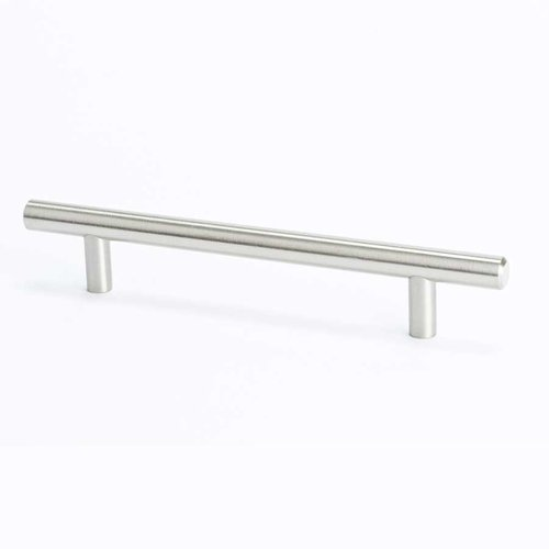 Berenson Tempo 5-1/16 Inch Center to Center Brushed Nickel Cabinet Pull 0804-2BPN-P