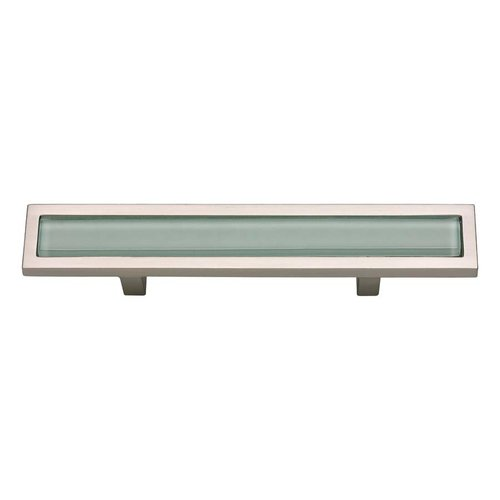 Spa 3 Inch Center to Center Brushed Nickel Cabinet Pull <small>(#231-GR-BRN)</small>