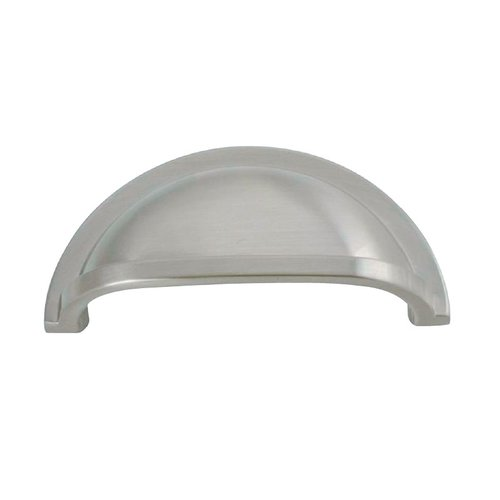Hickory Hardware Williamsburg 3 Inch Center to Center Stainless Steel Cabinet Cup Pull P3055-SS