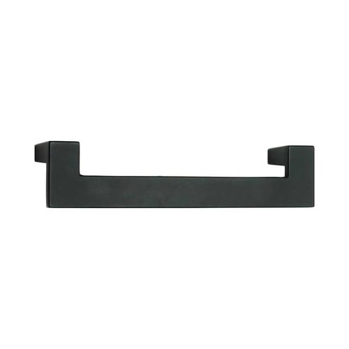 U-Turn 5-1/16 Inch Center to Center Black Cabinet Pull <small>(#A847-BL)</small>