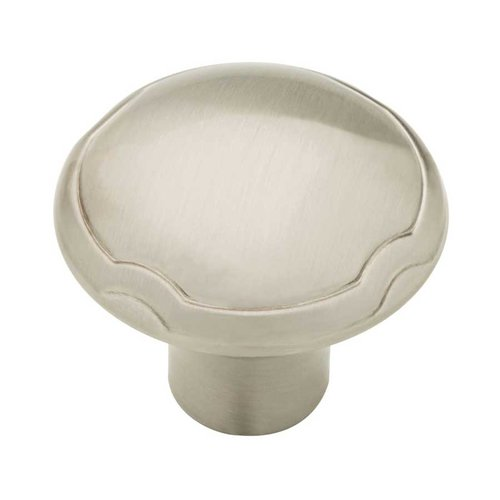 Athens 1-1/4 Inch Diameter Satin Nickel Cabinet Knob <small>(#P23120-SN-CP)</small>