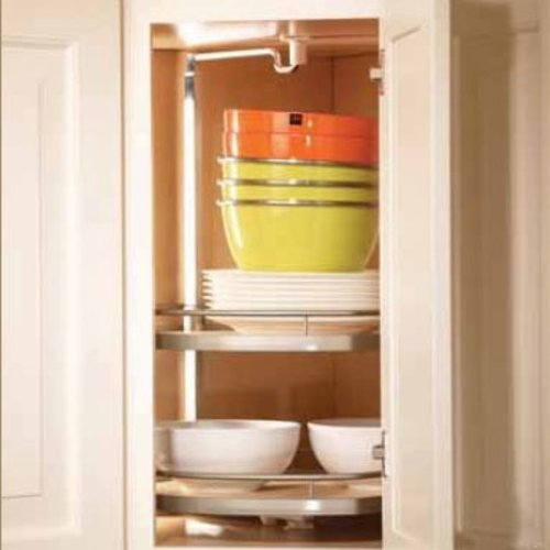 "Kessebohmer Arean Twister Set - 38""-42-1/4"" H Three Shelf 542.91.114"
