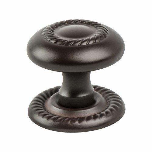 Berenson Advantage Plus 4 1-1/4 Inch Diameter Oil Rubbed Bronze Light Cabinet Knob 0956-1ORBL-P