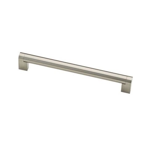 Liberty Hardware Stratford 7-9/16 Inch Center to Center Stainless Steel Cabinet Pull P28923-SS-C