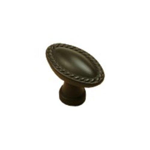 Century Hardware Hawthorne 1-3/8 Inch Diameter Oil Rubbed Bronze Cabinet Knob 22307-OB