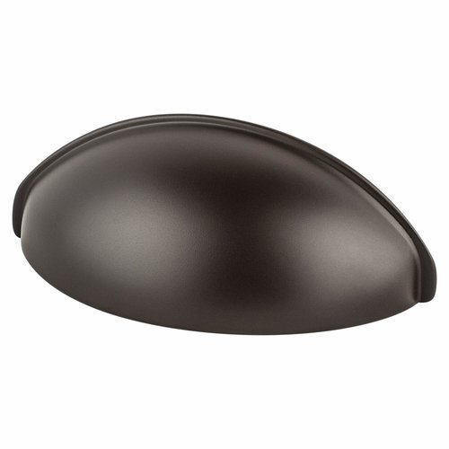 Berenson Advantage Plus 3 2-1/2 Inch Center to Center Oil Rubbed Bronze Light Cabinet Cup Pull 0964-1ORBL-P
