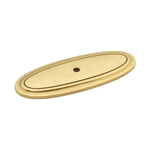 Hickory Hardware Manor House 3 Inch Length Lancaster Hand Polished Back-plate P277-LP