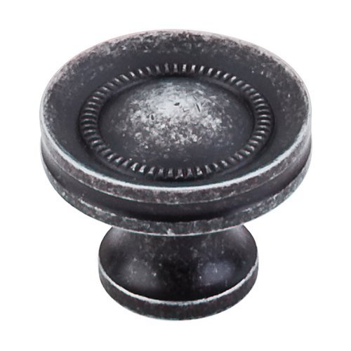 Top Knobs Somerset 1-1/4 Inch Diameter Black Iron Cabinet Knob M293