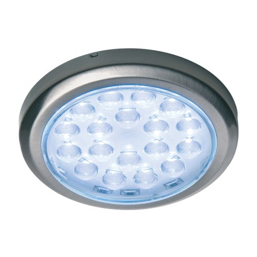 Luminoso 12V LED Recess Mount Spot Brushed Steel/Warm White <small>(#830.64.961)</small>