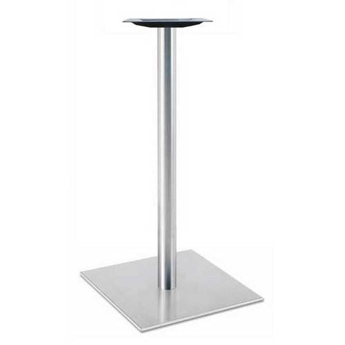"Peter Meier 30"" Square Table Base - Stainless Steel 40-3/8"" H 5030-43-SS"