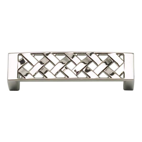Atlas Homewares Lattice 3 Inch Center to Center Polished Nickel Cabinet Pull 310-PN