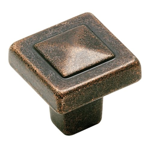 Forgings 1-1/8 Inch Diameter Rustic Bronze Cabinet Knob <small>(#BP4429RBZ)</small>