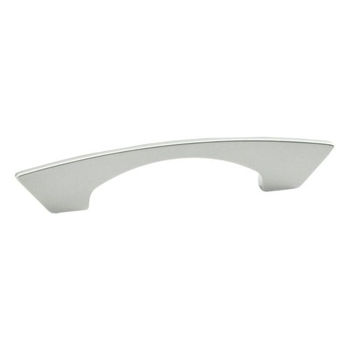 Schaub and Company Italian Designs Profile 3-3/4 Inch Center to Center Matte Chrome Cabinet Pull 247-096-M26