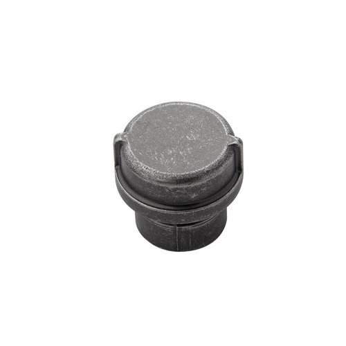 "Hickory Hardware Pipeline Knob 1-1/4"" Dia Black Nickel Vibed HH075028-BNV"