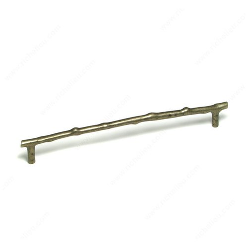 Richelieu Traditional Bronze 12 Inch Center to Center Pewter Bronze Cabinet Pull 8417712PB