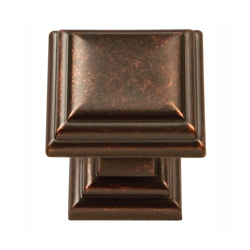 Hickory Hardware Somerset 1-1/8 Inch Diameter Dark Antique Copper Cabinet Knob HH74554-DAC