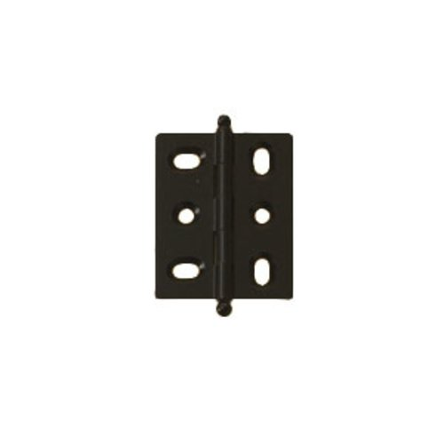 Hafele Elite Mortised Butt Hinge 50X40mm - Black 354.17.310