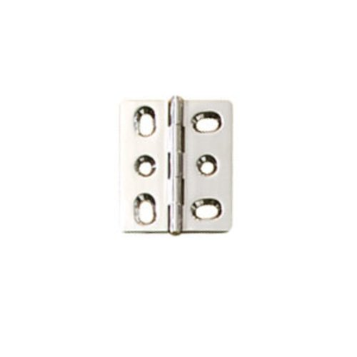 Hafele Elite Mortised Butt Hinge 50X40mm - Polished Chrome 354.17.220