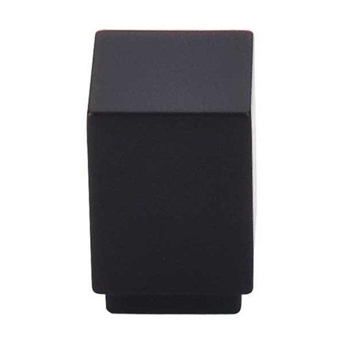 Top Knobs Sanctuary 1 Inch Diameter Flat Black Cabinet Knob TK33BLK