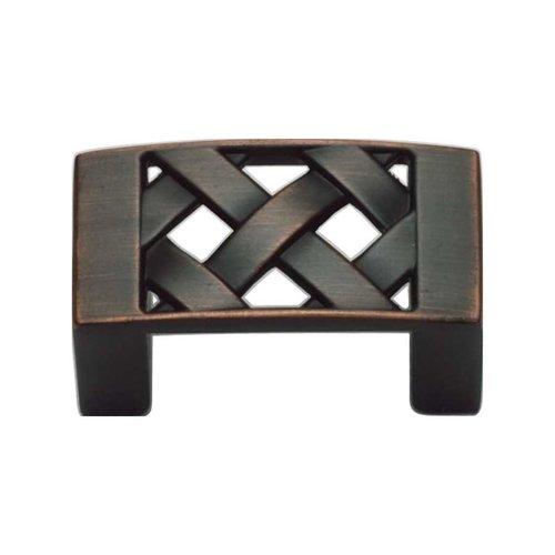 Atlas Homewares Lattice 1-1/4 Inch Center to Center Venetian Bronze Cabinet Pull 309-VB