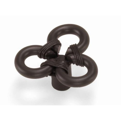Laurey Hardware Nantucket 1-3/4 Inch Diameter Oil Rubbed Bronze Cabinet Knob 51566