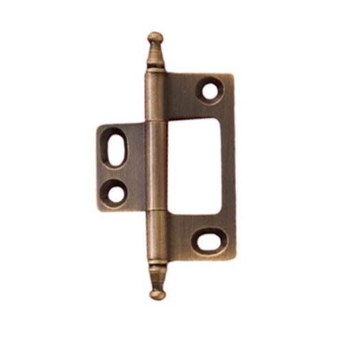 Hafele Elite Non-Mortised Butt Hinge 50X37mm - Antique Brass 351.95.180