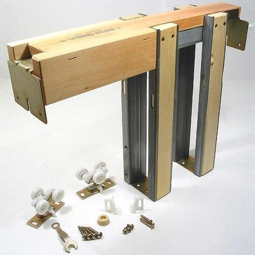 Johnson Hardware 1500 Series Pocket Door Frame & Hardware Set 125lbs 152668PF