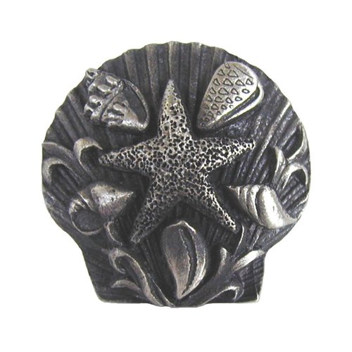 Notting Hill Tropical 1-5/16 Inch Diameter Antique Pewter Cabinet Knob NHK-134-AP