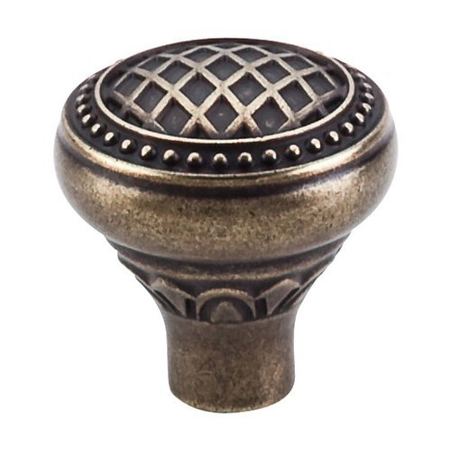 Trevi Fountain 1-5/16 Inch Diameter German Bronze Cabinet Knob <small>(#TK173GBZ)</small>