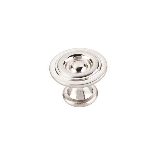 Elements by Hardware Resources Syracuse 1-3/16 Inch Diameter Satin Nickel Cabinet Knob 575SN