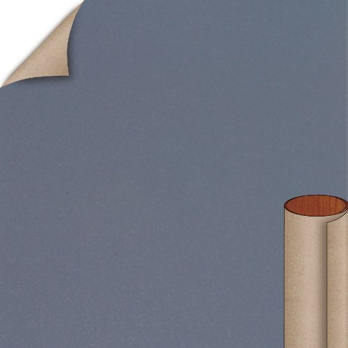 Nevamar Graphite Blue Textured Finish 4 ft. x 8 ft. Vertical Grade Laminate Sheet S3023T-T-V3-48X096