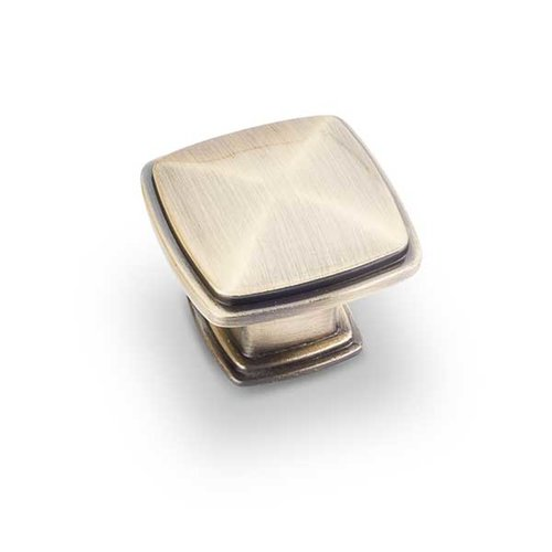 Jeffrey Alexander Milan 1 1-3/16 Inch Diameter Antique Brass Cabinet Knob 1091AB