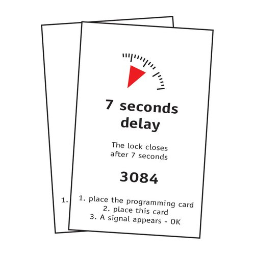 FPS 7 Second Delay Locking Card Set <small>(#0031561)</small>