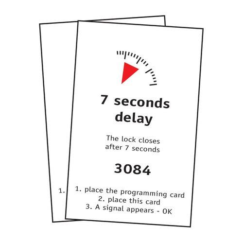 Fulterer FPS 7 Second Delay Locking Card Set 0031561