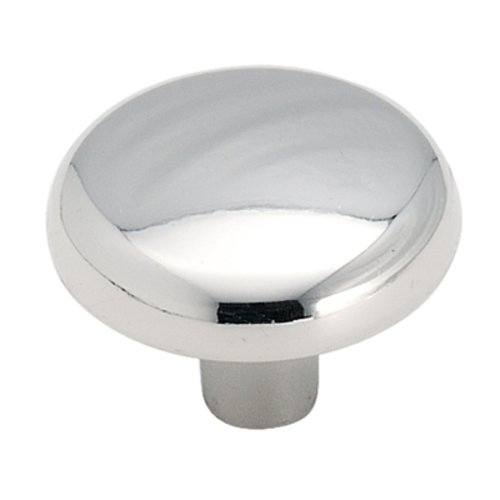 Allison Value Hardware 1-1/4 Inch Diameter Polished Chrome Cabinet Knob <small>(#BP71026)</small>