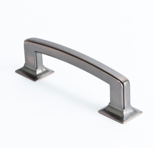 Hearthstone 3-3/4 Inch Center to Center Venetian Bronze Cabinet Pull <small>(#4069-10VB-P)</small>