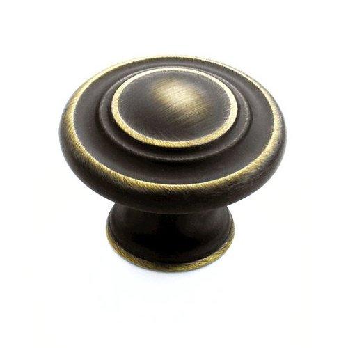 Amerock Inspirations 1-3/8 Inch Diameter Roman Bronze Cabinet Knob BP1586RB