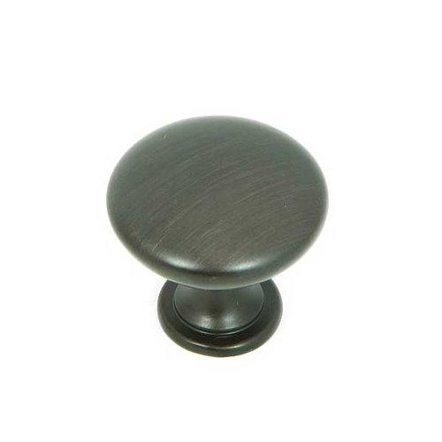 Stone Mill Hardware Princeton 1-1/4 Inch Diameter Oil Rubbed Bronze Cabinet Knob CP2175-OB