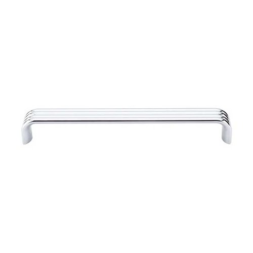 Top Knobs Sanctuary II 7 Inch Center to Center Polished Chrome Cabinet Pull TK264PC