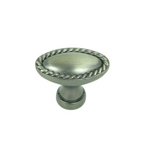 Palermo 1-3/8 Inch Diameter Weathered Nickel Cabinet Knob <small>(#CP80104-WEN)</small>