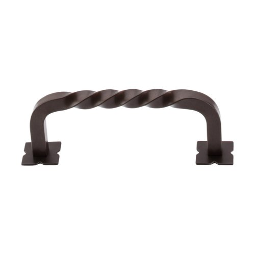 Top Knobs Normandy 3-3/4 Inch Center to Center Oil Rubbed Bronze Cabinet Pull M784