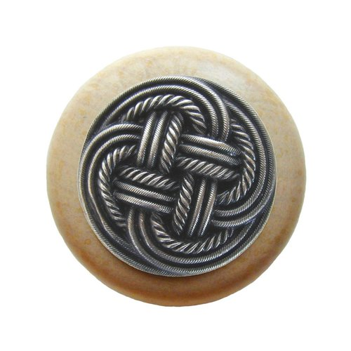 Notting Hill Classic 1-1/2 Inch Diameter Antique Pewter Cabinet Knob NHW-739N-AP