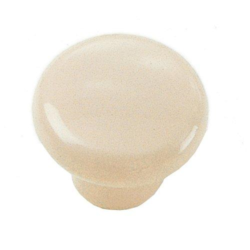 Laurey Hardware Plastics 1-1/4 Inch Diameter Bone Cabinet Knob 34616