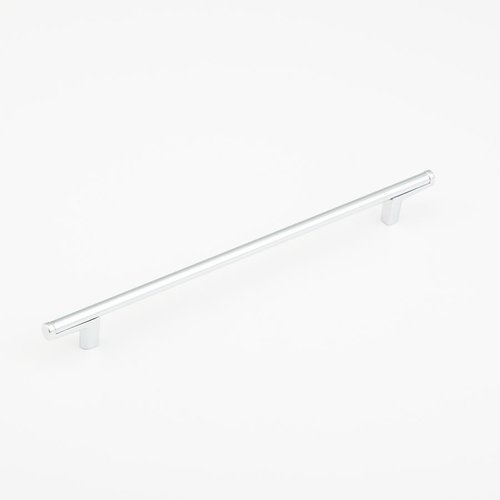 Schaub and Company Regatta 11-5/16 Inch Center to Center Polished Chrome Cabinet Pull 372-26