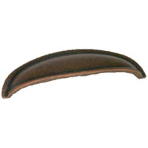Berenson American Classics 3 Inch Center to Center Weathered Copper Cabinet Cup Pull 9893-1WC-P