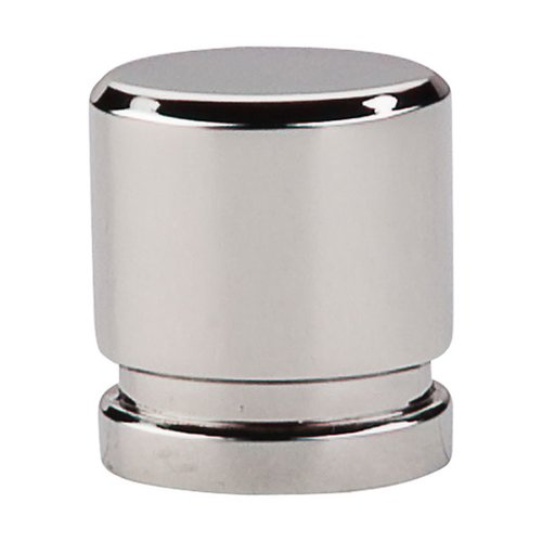 Top Knobs Sanctuary 1 Inch Length Polished Nickel Cabinet Knob TK57PN